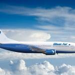 Blue Air a depășit pragul de 5 milioane de pasageri, în 2017