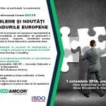 AMCOR organizează pe 1 octombrie o nouă ediție Professional Corner