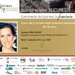 Meet the WOMAN! cu Anna Heijker: Cum să-ţi construieşti brandul personal de la zero