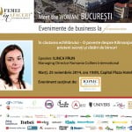 Ilinca Păun, Managing Director Colliers – speakerul evenimentului Meet the WOMAN!