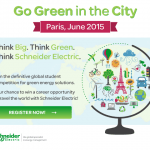 "Schneider Electric a lansat competiţia ""Green in the City"""