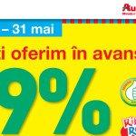 Auchan reduce TVA-ul la produsele alimentare marcă proprie
