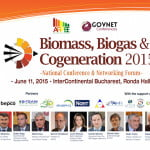 "Pe 11 iunie are loc evenimentul ""Biomass, Biogas & Cogeneration 2015"""