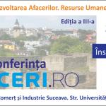 Afaceri.ro Suceava a ajuns la cea de-a treia ediţie: Evenimentul va avea loc pe 29 mai