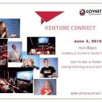 Tina Baker va participa pe 3 iunie la evenimentul VentureConnect