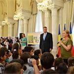 Preşedintele Klaus Iohannis a felicitat Salvați Copiii pentru cei 25 de ani de activitate