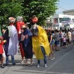 Peste 2000 de elevi au participat la Carnavalul Copiilor din Mangalia