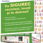 Iunie, luna reciclării în hipermarketurile Carrefour