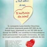 Cora România susţine spitalele româneşti