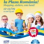 Workshop-uri dedicate copiilor, la Plaza România