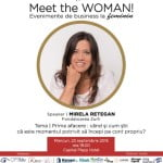 Fondatorea Zurli vine la Meet the WOMAN!