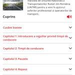 Prima aplicaţie mobilă din Europa pentru monitorizarea timpilor de conducere, lansată de UNTRR