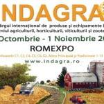 Cel mai mare eveniment din domeniul agricol, Indagra, începe astăzi, la Romexpo