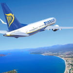 84% din zborurile Ryanair au ajuns la timp în luna martie