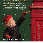 """Plaza și București Mall lansează campania """"Vino să-i scrii o scrisoare magică lui Moș Crăciun!"""""""