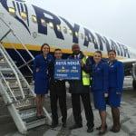 Ryanair a lansat o nouă rută din București către Atena