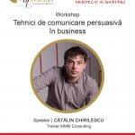 """Workshop-ul """"Tehnici de comunicare persuasivă în business"""" are loc pe 24 mai"""