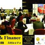 Tax & Finance Forum va avea loc în perioada 12-13 mai, la Bucureşti