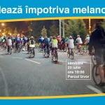 Bicicliștii pedalează pentru a atrage atenția asupra cancerului de piele