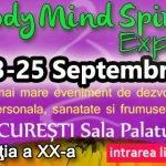 Body Mind Spirit EXPO va avea loc pe 23-25 septembrie, în Bucureşti