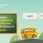 """Competiția """"Bani pentru școala ta"""" oferă premii de până la 10.000 de euro"""
