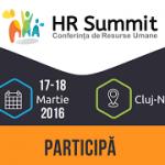 HR Summit Cluj-Napoca va avea loc pe 29-30 martie