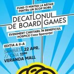 Veranda Mall găzduieşte sâmbătă Decatlonul de Board Games