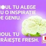 """Kaufland a lansat campania """"Noul Tu trăiește fresh"""""""