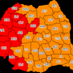 Cod Roşu şi Portocaliu de caniculă, în toată ţară