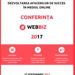 Conferinţa #WebBiz are loc pe 27 septembrie