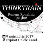 """Conferinţa ThinkTrain – """"Punem România pe șine"""" are loc pe 9 noiembrie"""