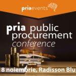 PRIA Public Procurement are loc pe 8 noiembrie