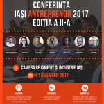 Conferinţa Iași Antreprenor are loc pe 21 noiembrie